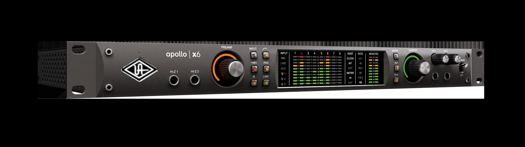 Universal Audio Apollo X6 (Thunderbolt 3)